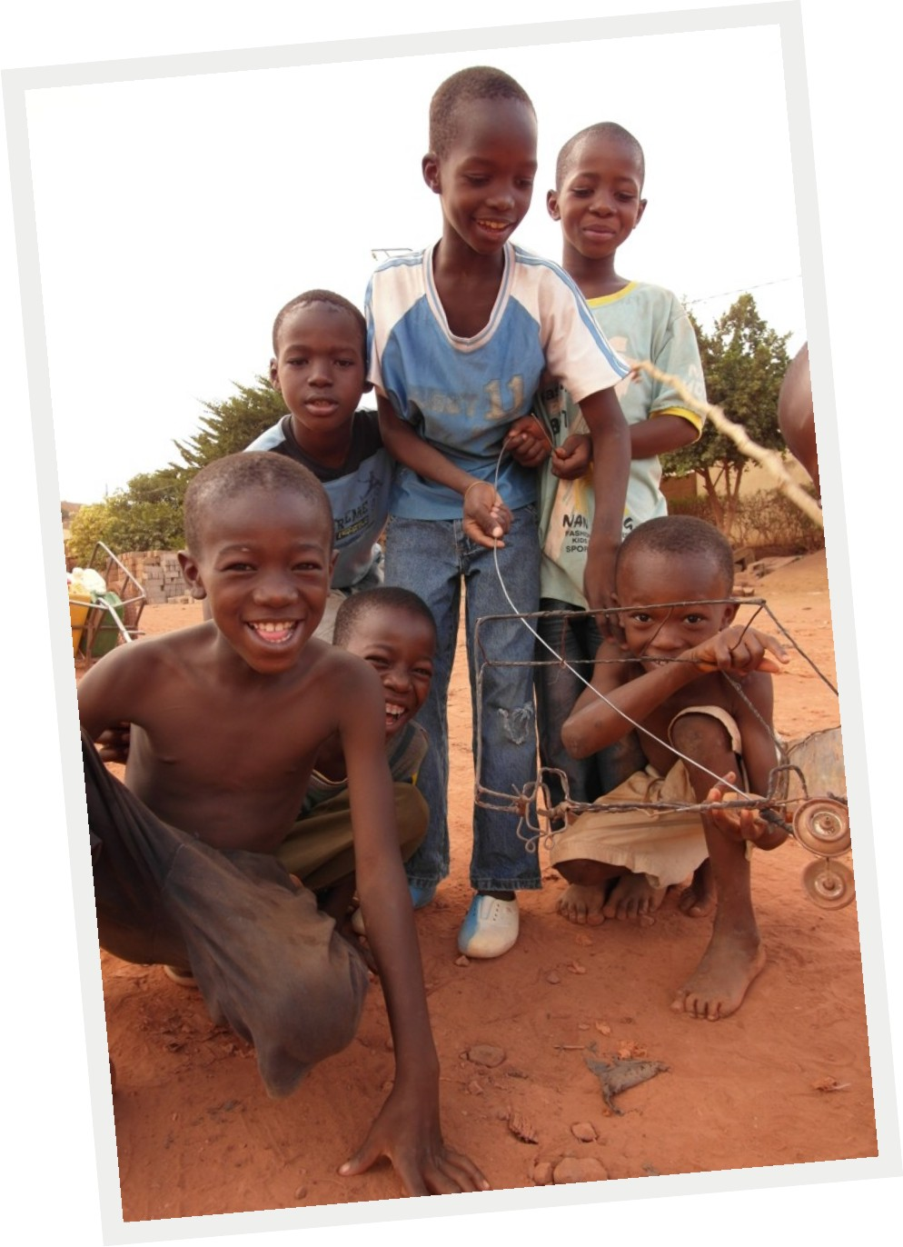 Children from Daodabougou (Bamako)